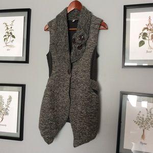 Cute long vest